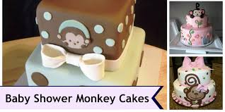 100 monkey themed cakes for a baby shower baby shower