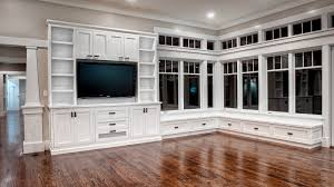 Built In Bookshelves With Window Seat Custom Cabinets Houston U2013 Cabinet Masters Houston U0027s Premier