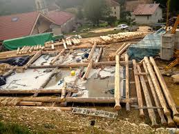 construire son chalet en bois éco construction u2013 les gîtes du tilleul
