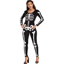 womens skeleton jumpsuit black bone baddie skeleton jumpsuit from
