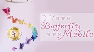 diy butterfly mobile with jennifer bosworth of shabby fabrics