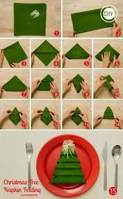 how to fold tree napkin diy tag diytag