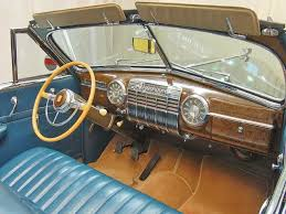 cadillac series 62 convertible dash view
