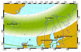 Northern Lights Forecast Alaska Aurora Forecast Geophysical Institute