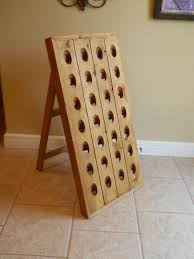 simple wine riddling rack u2014 interior exterior homie how to make