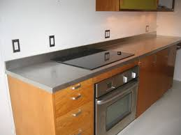 stainless steel countertops with stainless steel backsplash