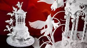 How To Decorate A Birdcage Home Decor Gazebo U0026 Doves Wedding Cake Sample Video How To Make Bird
