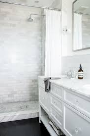 Bathroom Designs With Walk In Shower by Best 25 Subway Tile Showers Ideas On Pinterest Shower Rooms