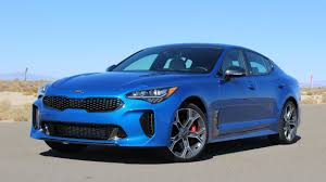porsche stinger old 2018 kia stinger sleek grand tourer punches above its weight