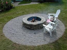 Rocks For Firepit Brilliant Backyard Rock Pit Ideas 1000 Images About Diy