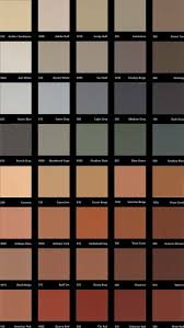Stain Color Chart Concrete Coating Color Chart Overlays And Coatings Smith Art Concrete Stamp Concrete