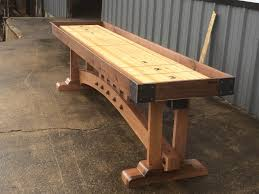 buy a custom craftsman shuffleboard table made to order from the