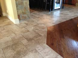 infinity floor no transition from tile to wood new house cool
