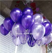 100 PCS Round Shiny Surface 10 Latex Helium Balloons Valentines