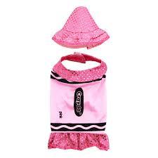 crayons halloween costume crayola crayon sparkle dog costume by rasta imposta pink with