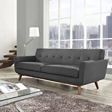 amazing dark grey couch for basement living room grey couch