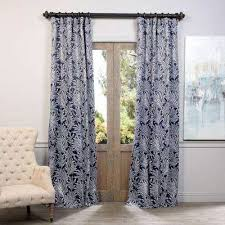 Blackout Navy Curtains Navy Curtains Drapes Window Treatments The Home Depot