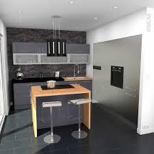 meuble cuisine ilot ilot central avec bar galerie avec ilot central avec table coin
