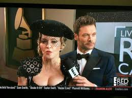 E Red Carpet Grammys Ryan Seacrest E U0027s Host Snobs Nas Nicole Kidman On 2015 Grammys