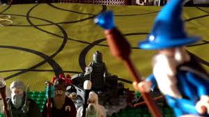 lego wizards of the middle earth lord of the rings youtube