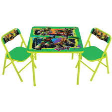 cheap folding tables walmart activity table chairs set your choice of character