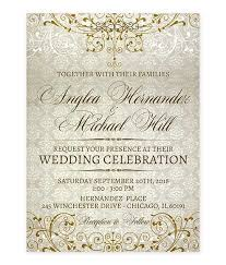 wedding invitations quincy il fancy gold flourishes wedding invitation for weddings