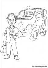 fireman sam coloring pages coloring book