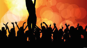 party silhouette 4k people at party silhouette wallpaper id 97