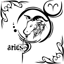 traditional stencil of aries tattoo goluputtar com