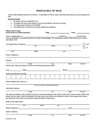 Auto Dealer Bill Of Sale Template by General Bill Of Sale Form Free Create Edit Fill