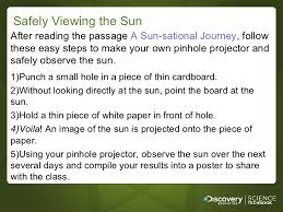 our the sun 3 5 ppt