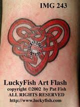 celtic heart tattoos u2013 luckyfish art