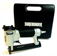 Upholstery Job Description Surebonder Pneumatic 22g Narrow Crown Upholstery Staple Gun With