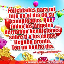 imagenes bonitas de cumpleaños para el facebook tarjetas de feliz cumpleaños muy bonitas y dedicadas a hijos para