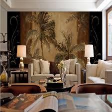 canap asiatique sud est asiatique style tropical coco palmier peinture à l huile