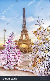 Christmas Trees In Paris Stock Images Royalty Free Images U0026 Vectors Shutterstock