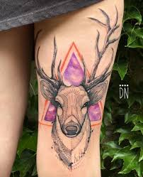 45 excellent stag tattoo designs and ideas tattooblend