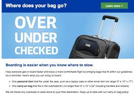 Checked Bags United United Rumored To Down On Carry On Bags Starting March 1