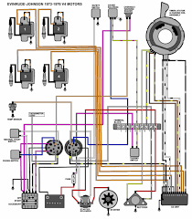 evinrude ignition switch wiring diagram with 1969 omc 55 wiring