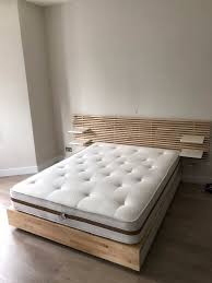 ikea mandal king size bed and headboard in islington london for