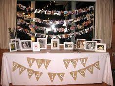 60th anniversary ideas 50th wedding anniversary party guest book picture garland on