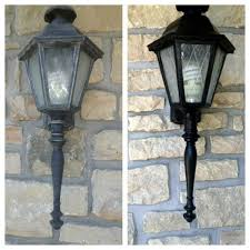 how to paint outside light fixtures light fixtures