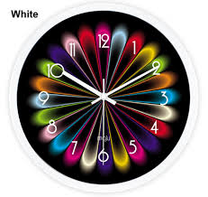 cool wall clock cool wall clock classic parlor multi colored wall clock personality