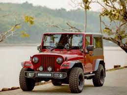 thar price this customised thar is a drop dead gorgeous replica of jeep wrangler