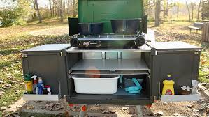 Portable Camping Sink Kitchen by Grill In Style 5 Elegant And Portable Camp Kitchens