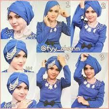 tutorial hijab paris ke pesta 30 kreasi tutorial hijab pesta simple terbaru 2018 page 3 of 3