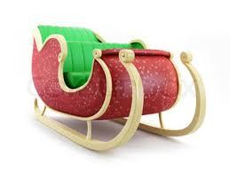 santa sleigh for sale santas sleigh big sale stock photo colourbox