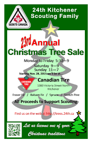 Fraser Christmas Tree Permit by Christmas Tree Sale Participants Page 24th Kitchener Scouting Family