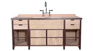 stainless steel kitchen sink cabinet hanna flamant home interiors