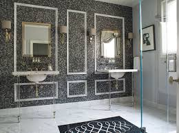 Tile Accent Wall Bathroom Marble Tiled Accent Wall Design Ideas